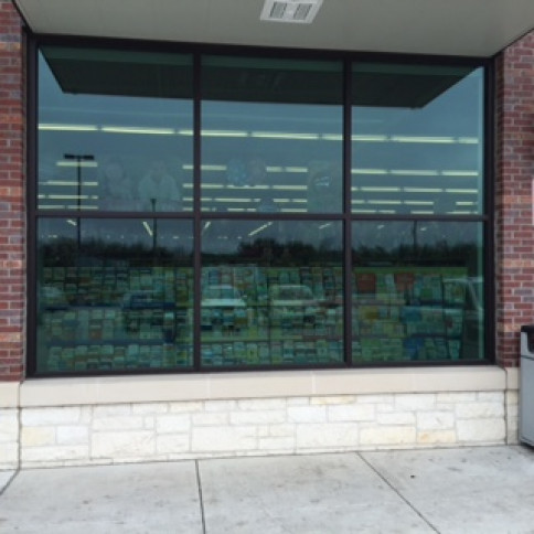 We also offer commercial glass repairs and new window installation.